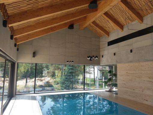 concrete slabs Artis Visio swimmingpool